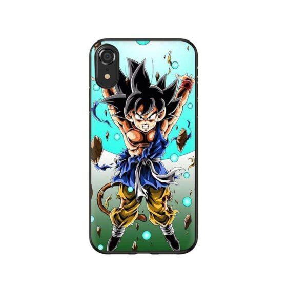 DBZ Angry Charging Goku Jr. iPhone 12 (Mini, Pro & Pro Max) Case