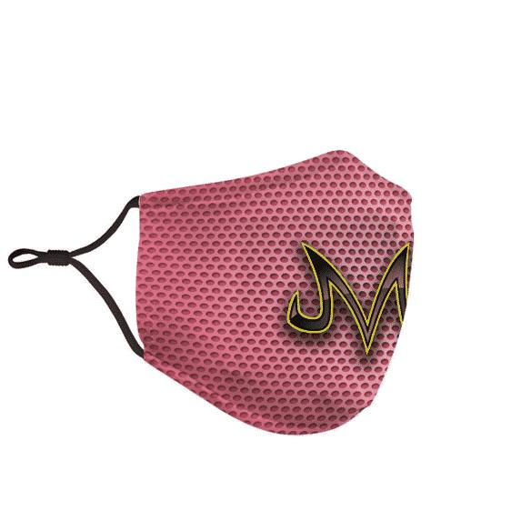 DBZ Babidi Majin Curse Symbol Pink Dotted Awesome Face Mask