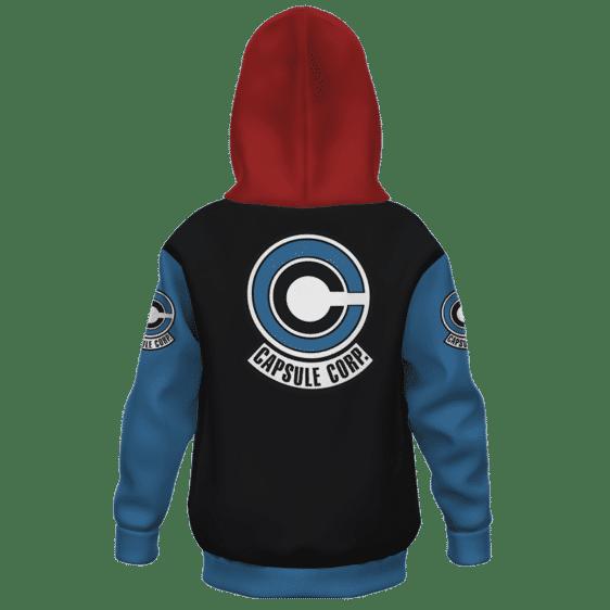 DBZ Capsule Corp Future Trunks Colors Kids Hoodie