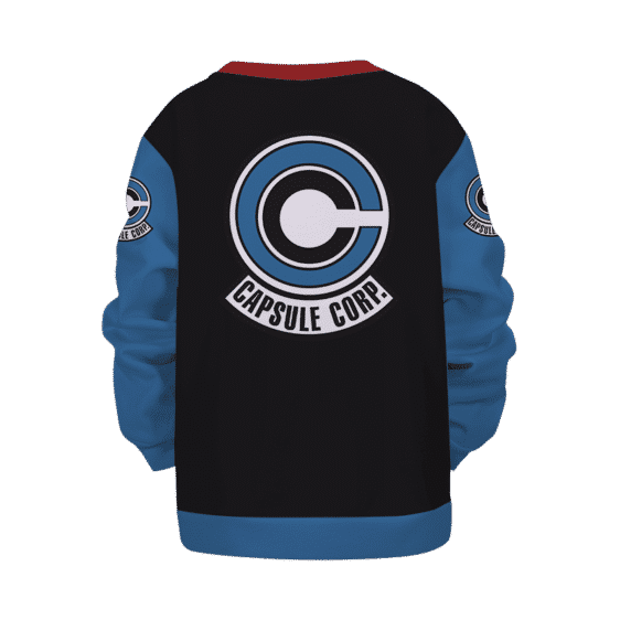 DBZ Capsule Corp Future Trunks Colors Kids Sweatshirt