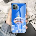 DBZ Capsule Corp Tower iPhone 12 (Mini, Pro & Pro Max) Cases