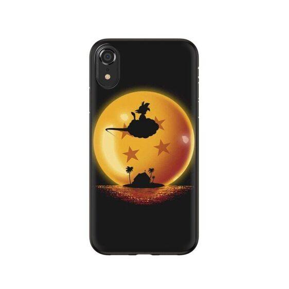 DBZ Flying Kid Goku Nimbus Cloud iPhone 12 (Mini, Pro & Pro Max) Case