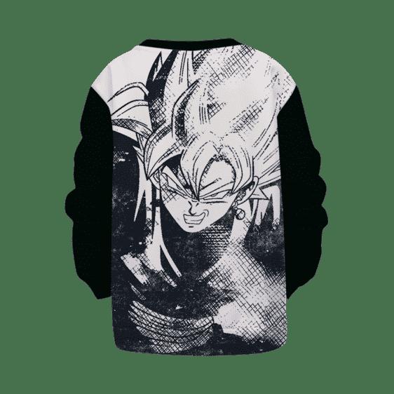DBZ Goku Black Stylish Line Art Cool Kids Sweatshirt