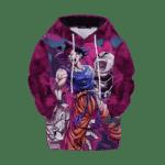 DBZ Goku Krillin Versus Frieza Kids Awesome Hoodies