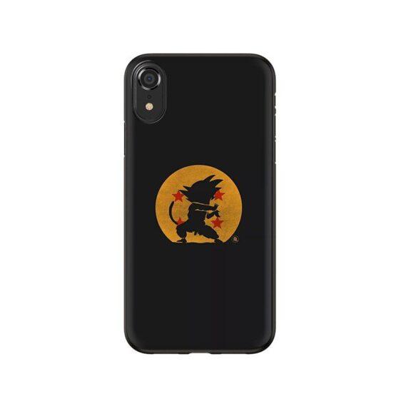 DBZ Silhouette Karate Kid Goku iPhone 12 (Mini, Pro & Pro Max) Case
