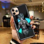 DBZ Tattoed Goku Blue iPhone 12 (Mini, Pro & Pro Max) Cover
