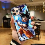 Dragon Ball Charging Goku God iPhone 12 (Mini, Pro & Pro Max) Case