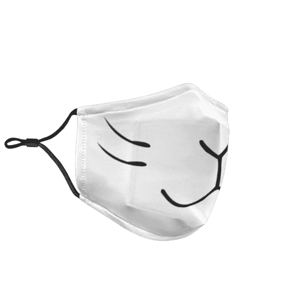 Dragon Ball Grandpa Gohan Kitsune Cosplay Dust Face Mask