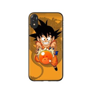 Dragon Ball Kid Goku and Shenron iPhone 12 (Mini, Pro & Pro Max) Case