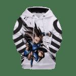 Dragon Ball Legends Shallot The Amnesiac Saiyan Kids Pullover Hoodie