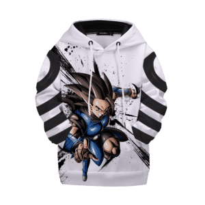 Dragon Ball Legends Shallot The Amnesiac Saiyan Kids Pullover Hoodie