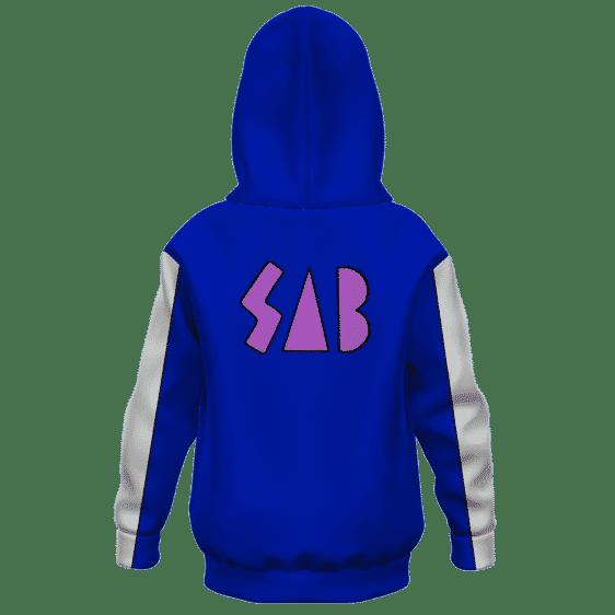 Dragon Ball Super Goku SAB Jacket Broly Movie Kids Hoodie Back