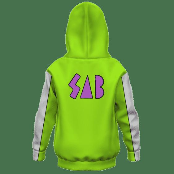 Dragon Ball Super Vegeta SAB Jacket Broly Movie Kids Hoodie Back