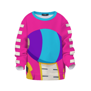 Dragon Ball Super Zeno Symbol Art Pink Kids Sweatshirt