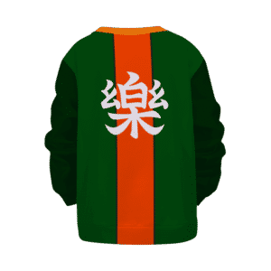 Dragon Ball Yamcha Cosplay Comfort Kanji Kids Sweater