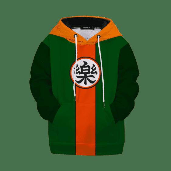 Dragon Ball Yamcha Costume Comfort Kanji Kids Hoodie