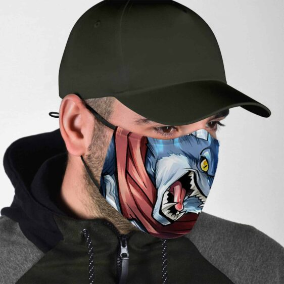 Dragon Ball Z Legends Angry Bergamo the Crusher Face Mask