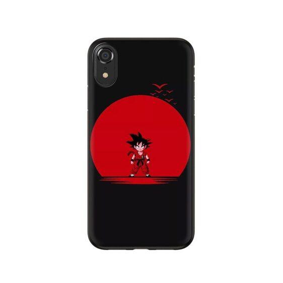 Dragon Ball Z Angry Kid Goku iPhone 12 (Mini, Pro & Pro Max) Case