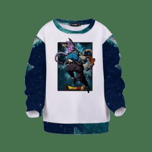 Dragon Ball Super Beerus Versus Moro Kids Sweatshirt