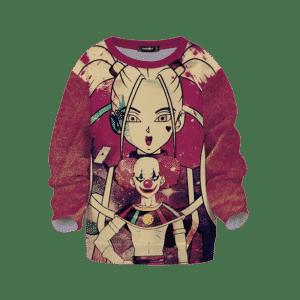 DBZ Belmod Marcarita Suicide Squad Theme Kids Sweatshirt