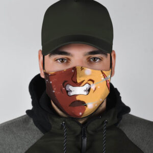 Dragon Ball Z Angry Mouth of Broly Cosplay Face Mask
