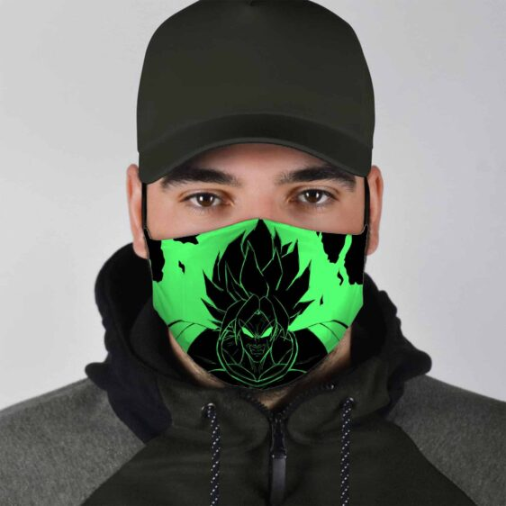 Dragon Ball Z Broly Exploding Power Face Mask