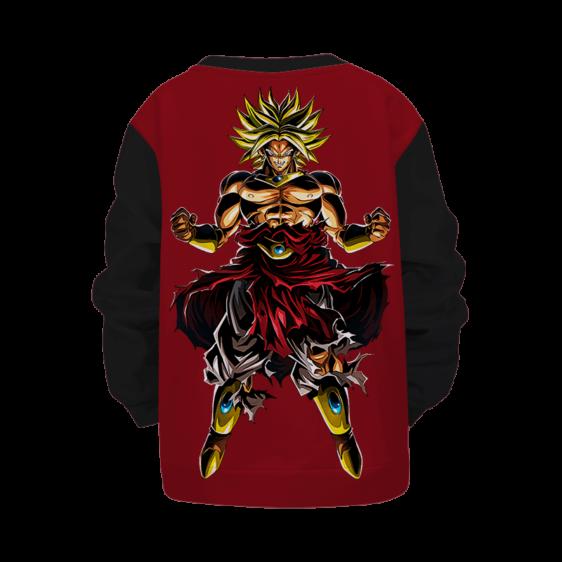 Dragon Ball Z Broly Powerful Aura Children's Sweater