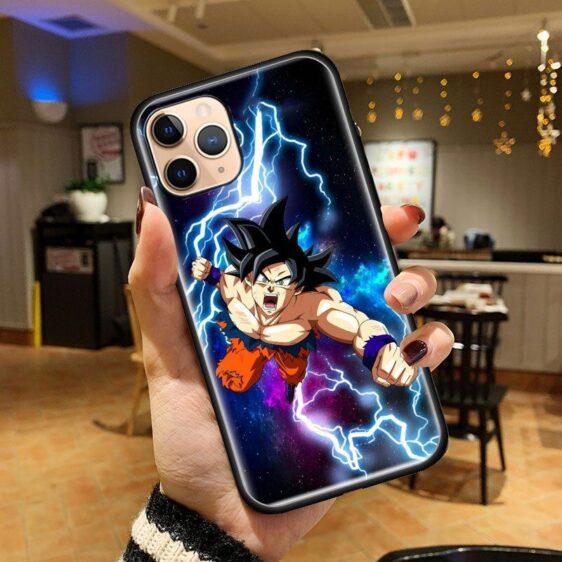 Dragon Ball Z Charging Goku God iPhone 12 (Mini, Pro & Pro Max) Cover