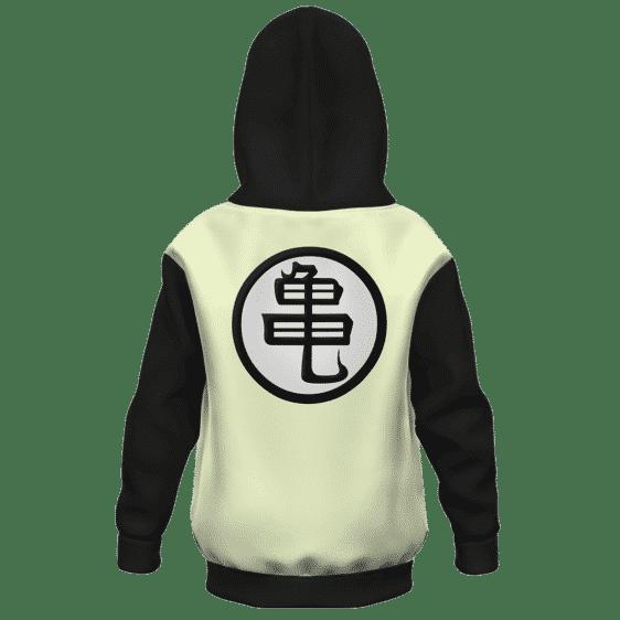 Dragon Ball Z Classic Master Roshi Awesome Kanji Kids Hoodie