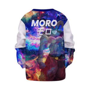 Dragon Ball Z Cool Moro Galaxy Art Style Kids Sweatshirt