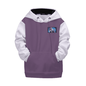 Dragon Ball Z Fierce Charging Android 18 Kids Hoodie
