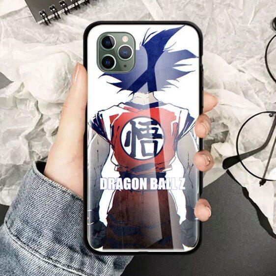 Dragon Ball Z Fierce Goku iPhone 12 (Mini, Pro & Pro Max) Cases