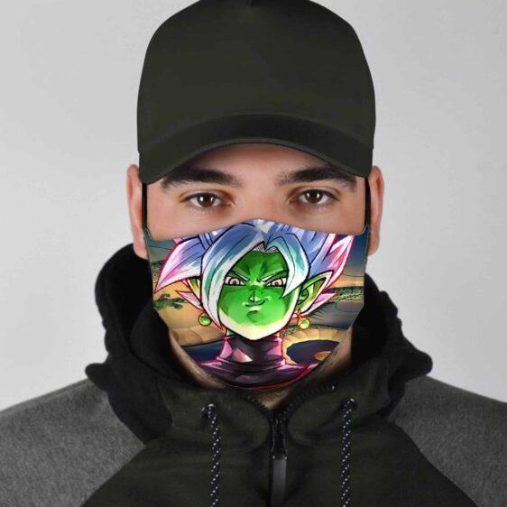 Dragon Ball Z Fusion Shenron Smirking Zamasu Face Mask