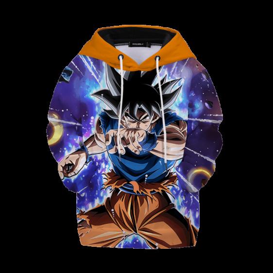 Dragon Ball Z Galactic Goku Ultra Instinct Kids Hoodie