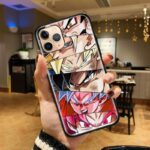 Dragon Ball Z Goku Awesome Forms iPhone 12 (Mini, Pro & Pro Max) Cover