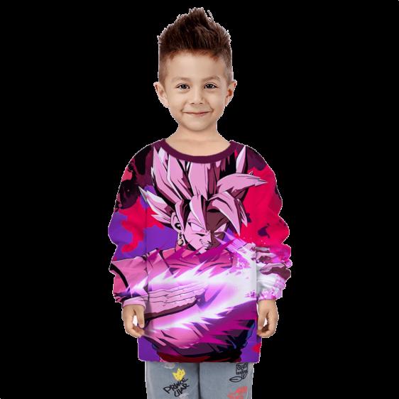 Dragon Ball Z Goku Black Smirking Children's Sweater