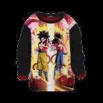 Dragon Ball Z Goku Vegeta Super Saiyan 4 Kids Sweatshirt