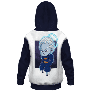 Dragon Ball Z Grand Priest Daishinkan Cool Kids Hoodie Back