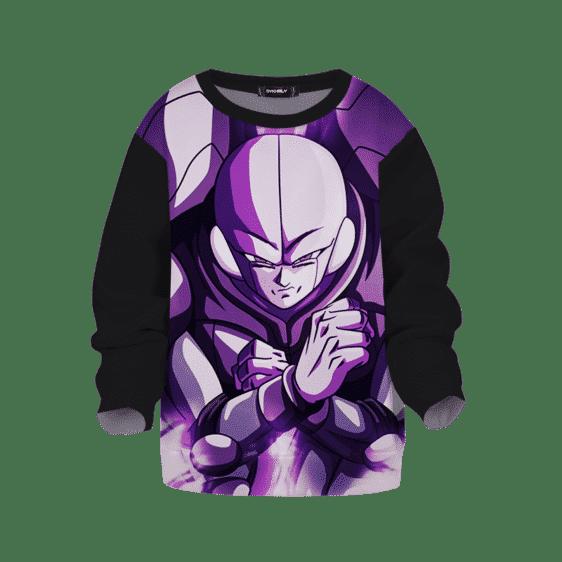 Dragon Ball Z Hit Minimalist Purple Kids Sweatshirt