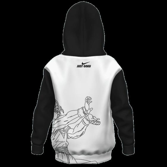 Dragon Ball Z Just Goku Nike Inspired Cool Kid Hoodie Back