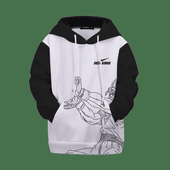Dragon Ball Z Just Goku Nike Inspired Cool Kid Hoodie Hoodie
