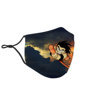 Dragon Ball Z Kid Goku Stick catapult Face Mask