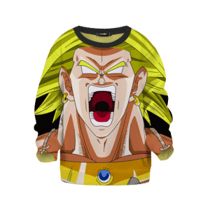 Dragon Ball Z Legendary Broly Explosive Children's sweater