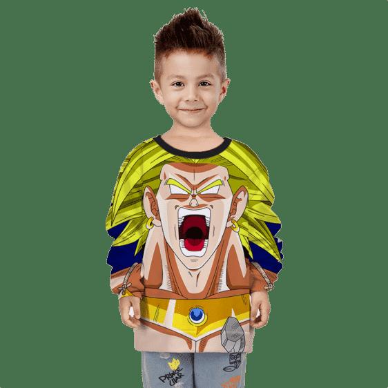 Dragon Ball Z Legendary Broly Explosive Children's sweater