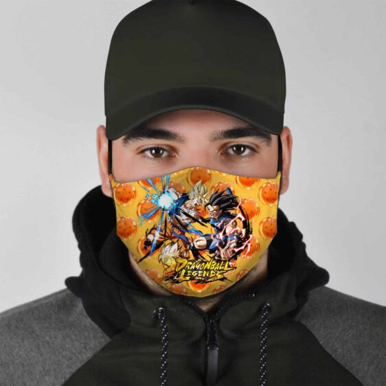 Dragon Ball Z Legends Goku & Vegito Epic Battle Face Mask