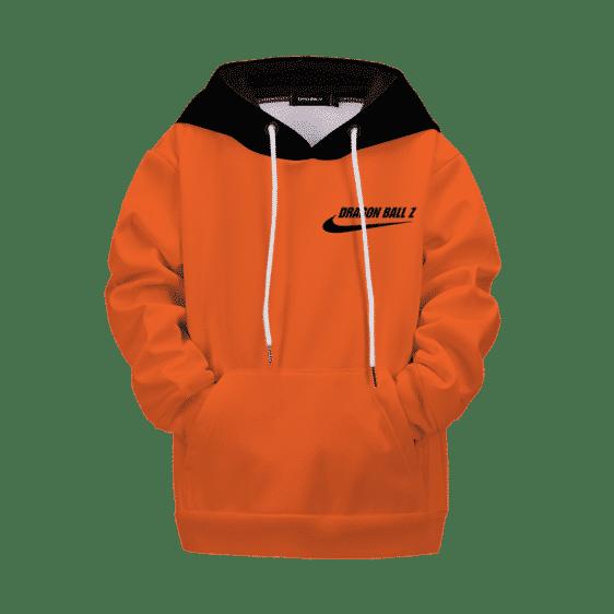 Dragon Ball Z Minimalist Nike Inspired Logo Kids Hoodie