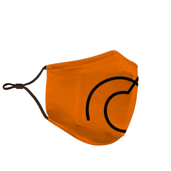 Dragon Ball Z Orange Whis Symbol Cool Dope Face Mask