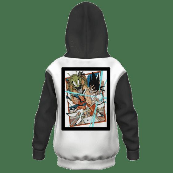 Dragon Ball Z Picollo Goku Tournament Fight Frame Art Kids Hoodie