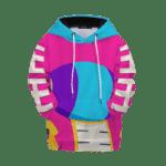 Dragon Ball Z Pink Zeno Symbol Art Kids Hoodie