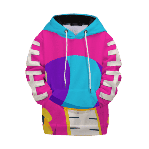 Dragon Ball Z Pink Zeno Symbol Art Kids Hoodie